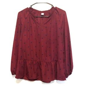 2 for $10 Old Navy Polka Dotted Blouse
